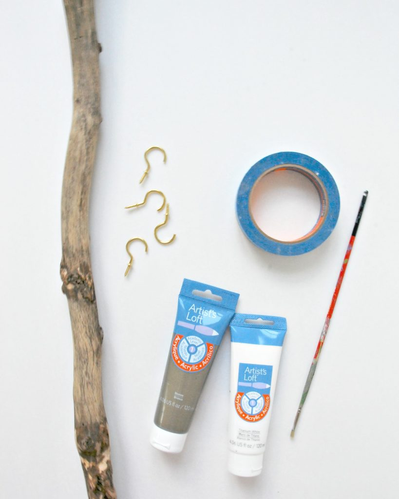 1 driftwood hanger