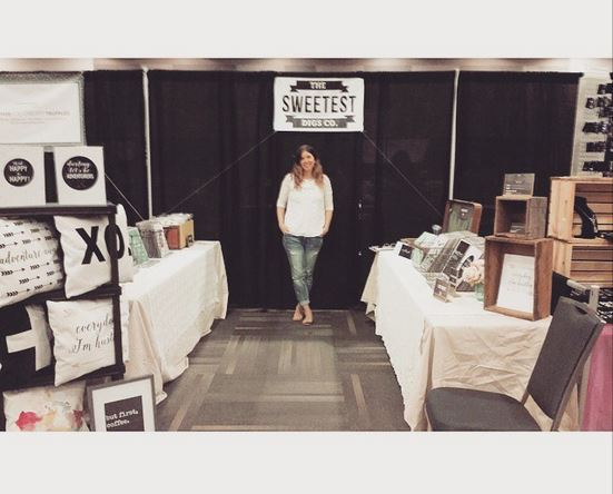 the sweetest digs co at ottawa craft fair