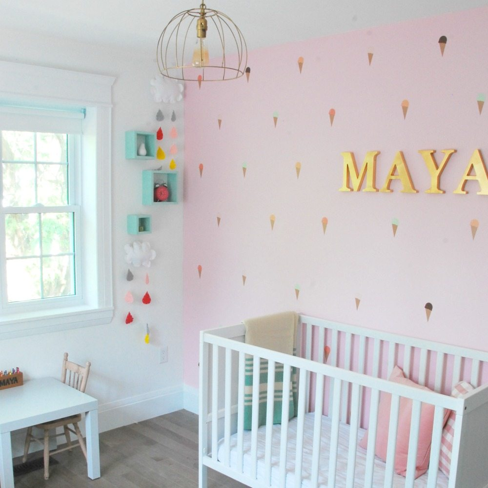 Maya's Bright And Cheerful DIY Nursery