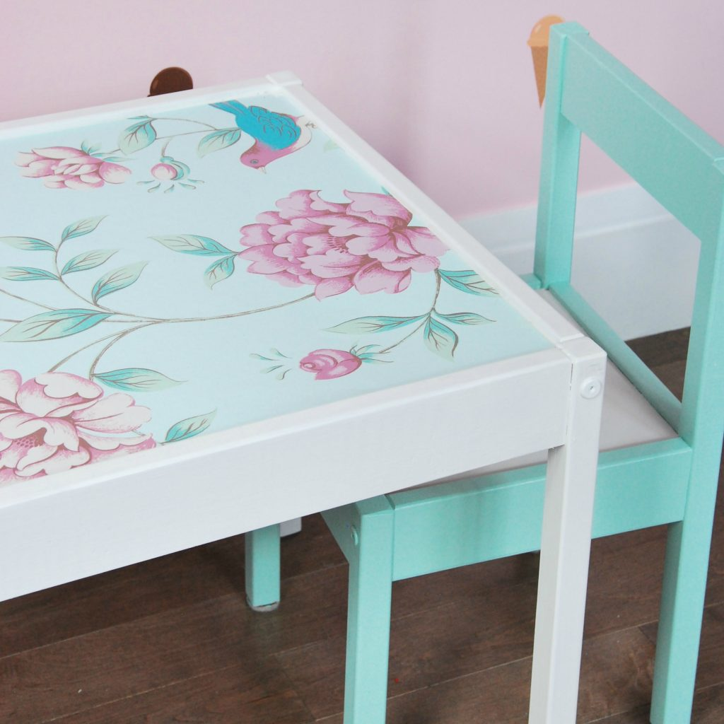 IKEA HACK: Latt table