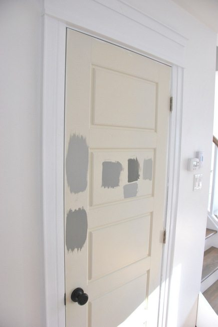 Painting gray interior doors how i did it the sweetest digs interior doors was the way to go it would help connect the kitchen to the other areas in the open concept space and it would definitely allow for the planetlyrics Image collections