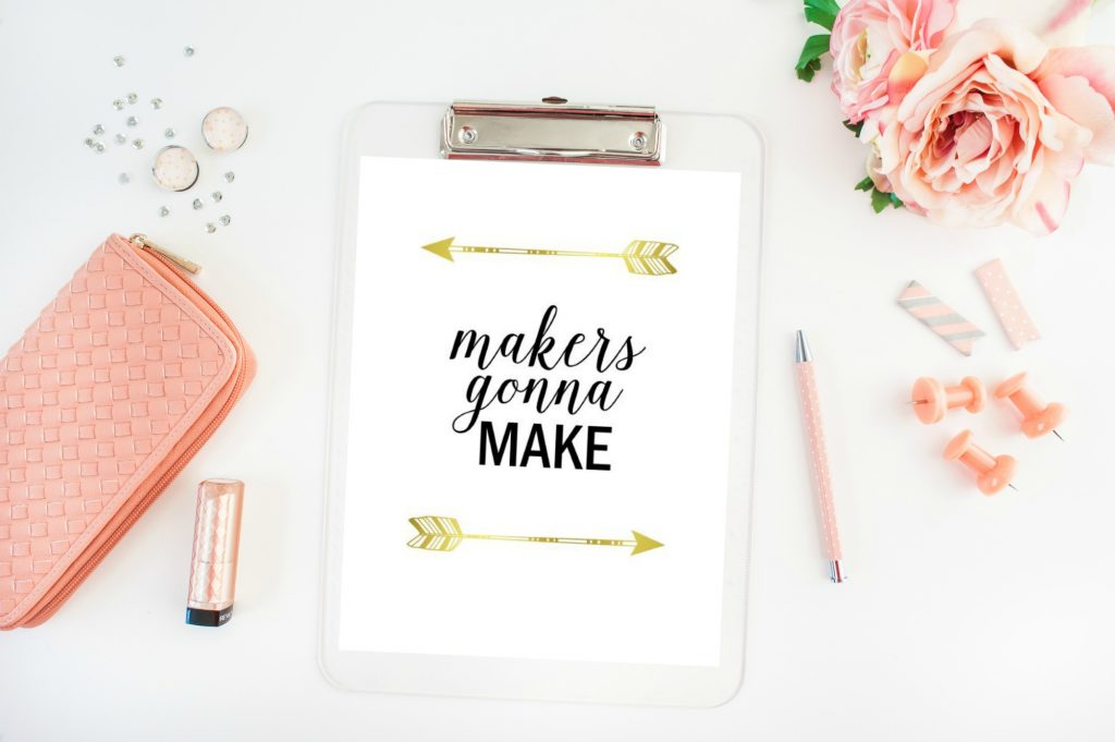 makers gonna make - gold - etsy3