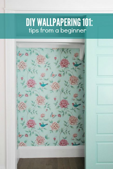 wallpaper application - tips from a first time wallpaperer
