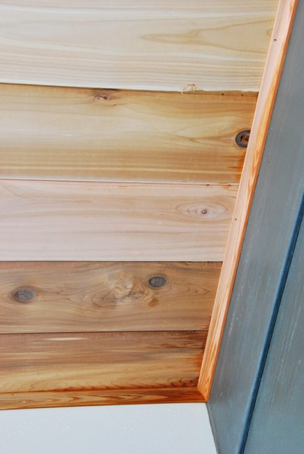 How To Build A Cedar Porch Ceiling - THE SWEETEST DIGS