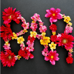 make these: DIY flower letters
