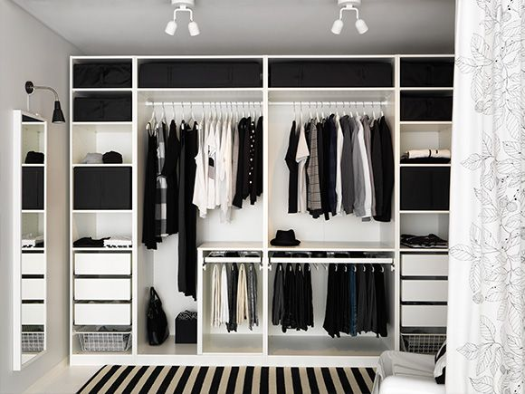 Wardrobe Envy | Black & White Wardrobe