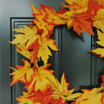 DIY fall leaf wreath (for only $5!)