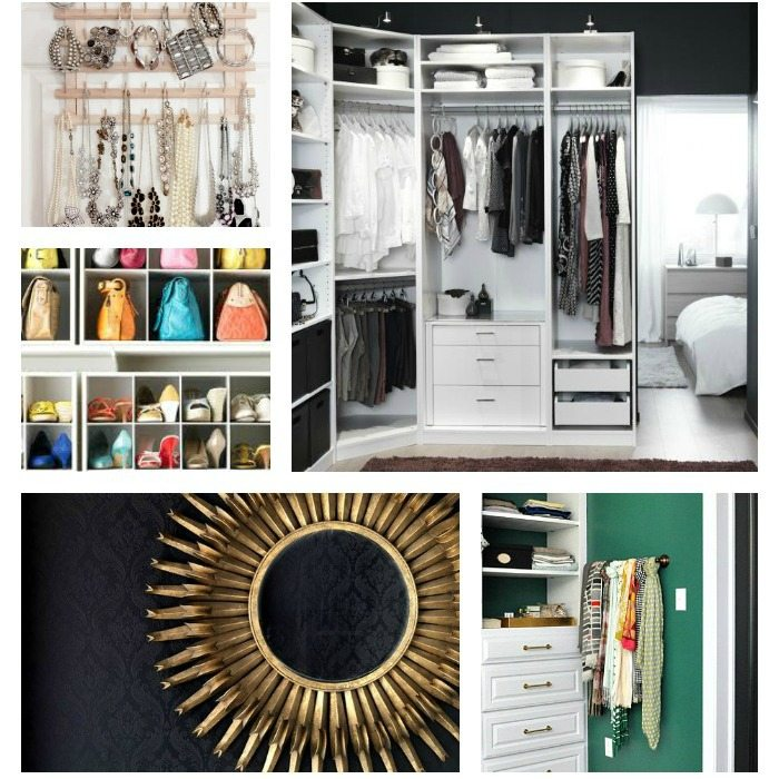 steps to an organized closet