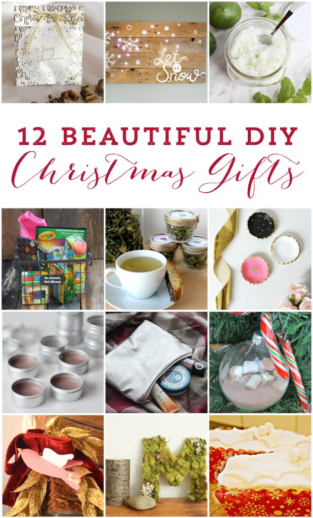 12 Amazing handmade Christmas gift ideas (all from Canadian bloggers!)