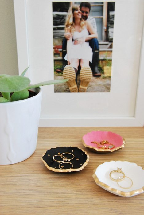 Baby Gift Under $5 : How to make diy air dry clay jewelry bowls the sweetest digs
