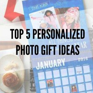 my top 5 personalized photo gift ideas