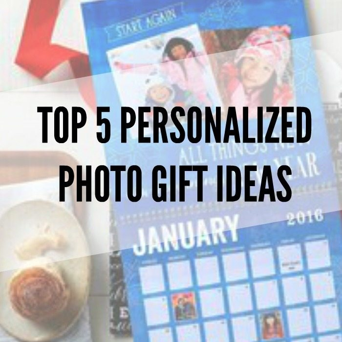 Looking to make a personalized photo gift? Here are my top 5 gift ideas that are great for Christmas - calendars, mugs, plates, bags, ornaments, and more! Head on over to the blog for the full list, examples, and sources.