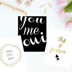 3 FREE valentine's art printables