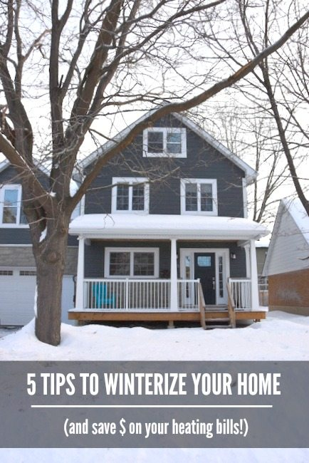 5 Tips to help you winterize your home. Keep it warm and save on heating and energy bills! Click over to the blog for the full article!