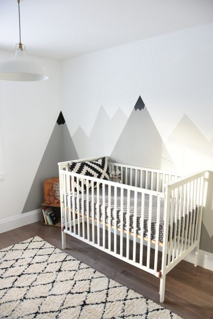 Kids room decor a diy feather mobile the sweetest digs for Diy wall photo mural