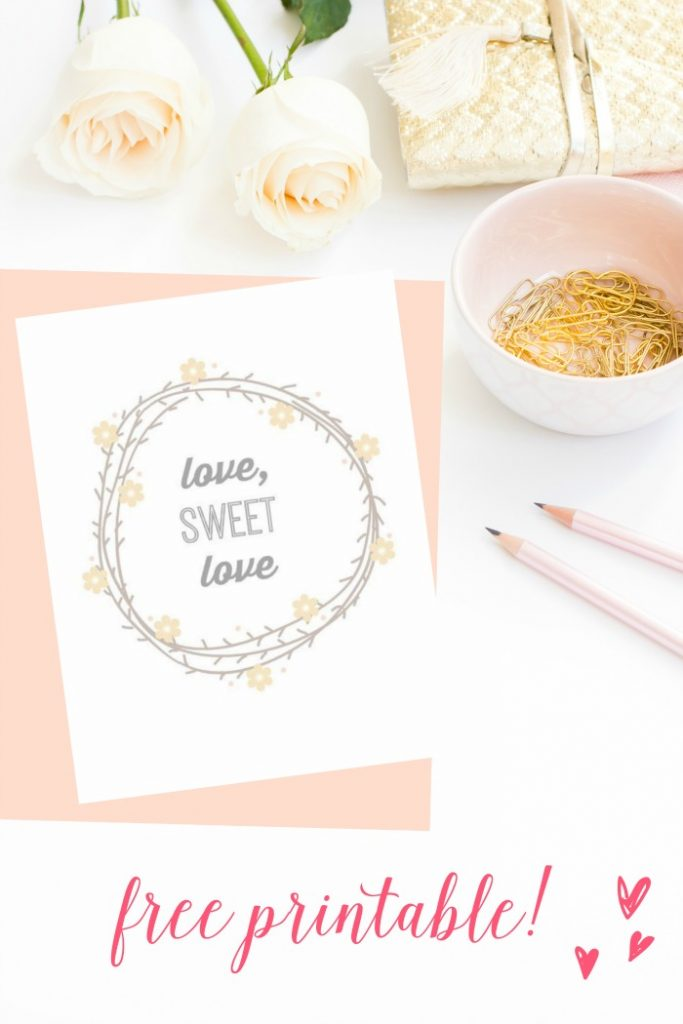 Need an easy DIY valentine's gift - Head over to the blog to get these 3 FREE instant download art printables! Frame them and give as a present, or hang in your own gallery wall. (5)