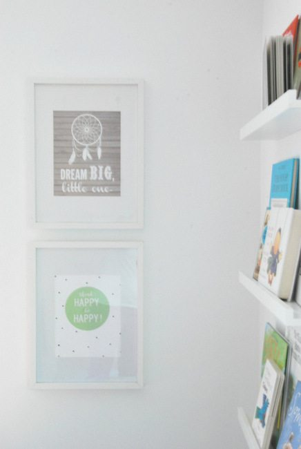 Want to hack IKEA Ribba frames - Paint the mats a color! An easy DIY project that will customize your frames instantly and make your artwork pop. (1)