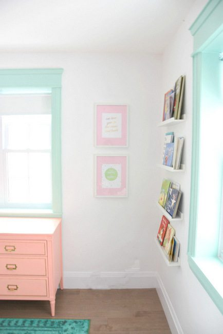 Want to hack IKEA Ribba frames - Paint the mats a color! An easy DIY project that will customize your frames instantly and make your artwork pop. (3)
