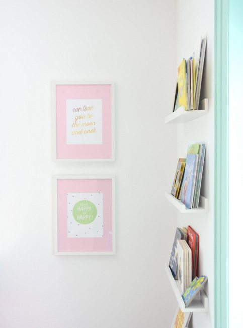Want to hack IKEA Ribba frames - Paint the mats a color! An easy DIY project that will customize your frames instantly and make your artwork pop. (4)