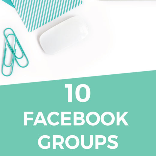 The 10 facebook groups you NEED to join if you are a blogger. If you blog about DIYs, home decor, or design, these groups are going to be your go-to spots for collaborating, building community, sharing resources, and generating traffic! Click through for the full list.