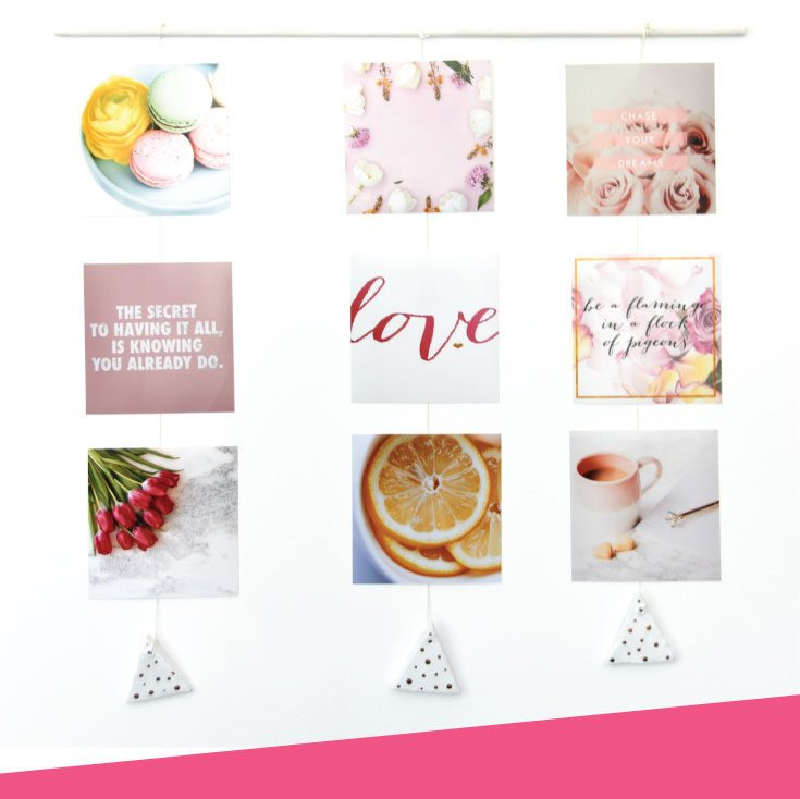Make This DIY Instagram Gallery Wall Hanging