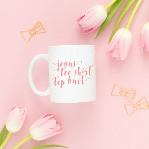 Cute coffee mugs perfect for bloggers, decorators, DIYers, interior designers, and girlbosses. They feature fun sayings and quotes that will make you smile. The perfect office accessory! Most come in black, pink, or turquoise. Check out the whole collection from THE SWEETEST DIGS CO on Etsy!