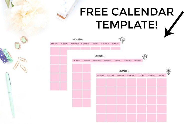 how to create an editorial calendar for your blog with. Black Bedroom Furniture Sets. Home Design Ideas