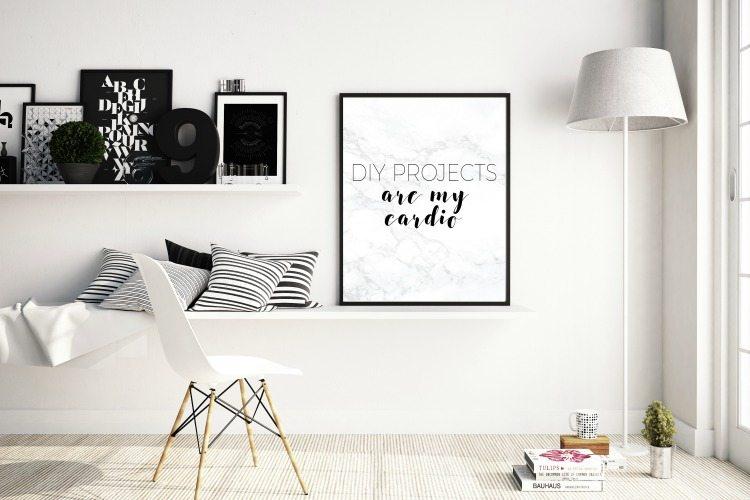 Living Room Photoframe Mockups