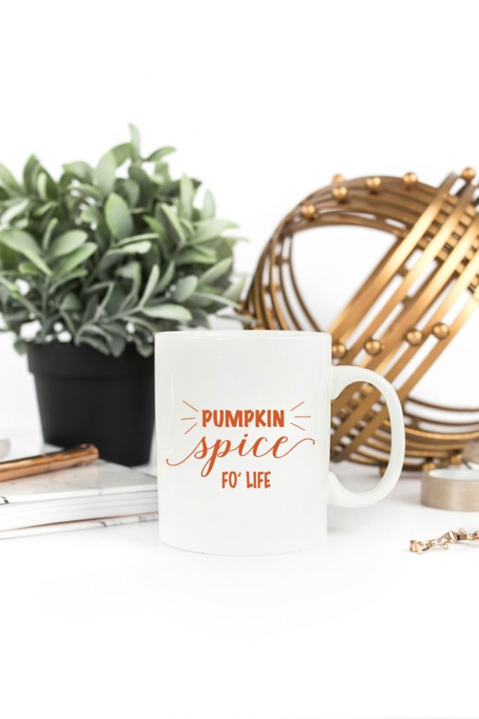 Love all things pumpkin spice? Check out this PSL coffee mug, and other Fall decor finds!
