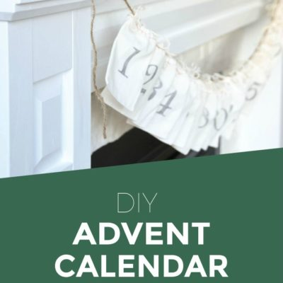 DIY Advent Calendar | Christmas decorations | Handmade | Gift idea | Holiday Project | Click through for the full tutorial!