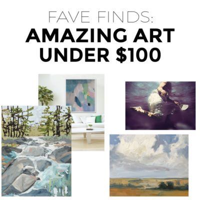 The 10 Best Etsy Shops for Affordable Art under $100 (+ GIVEAWAY!)