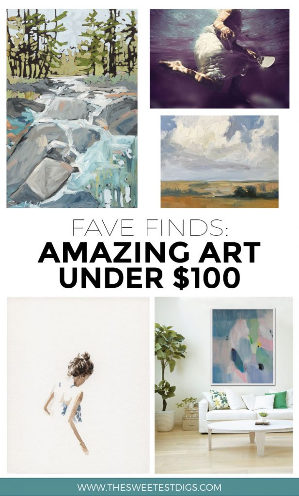 Decorate Your Home with This Amazing Affordable Art | Art under $100 | Home Decor | Budget friendly Artwork | Etsy Artists | Click through for the sources!