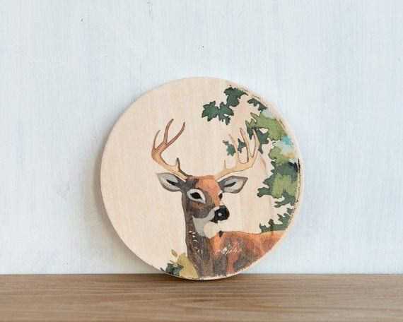 deer-head-painting