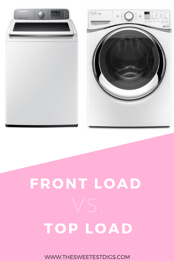 Front Load Vs. Top Load Laundry Machine | The advantages and disadvantages | Pros and Cons | Laundry Room