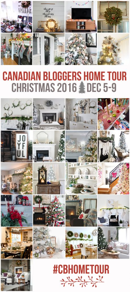 Christmas Home Decorating | Tour these home design blogger's houses for the holidays! Tons of DIY ideas and decorating inspiration!