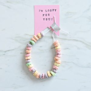 DIY Valentines: Easy and Cute Candy Necklace Cards