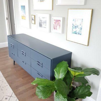 One Room Challenge Week 2: Painting Furniture & Doors