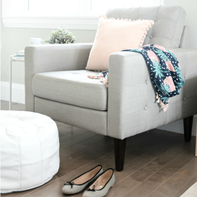 One Room Challenge: Creating a Master Bedroom Reading Corner