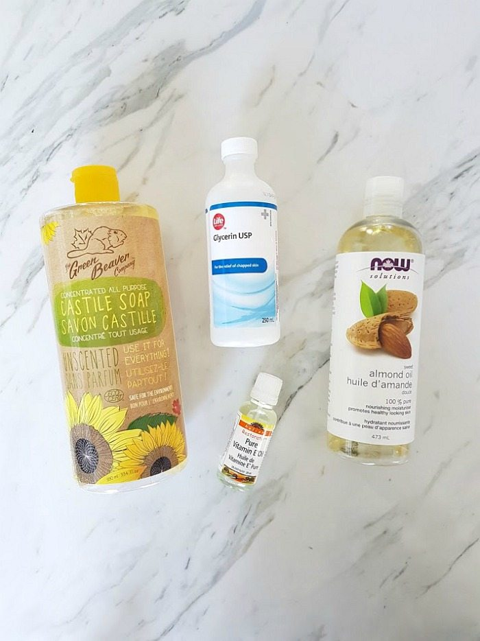 Homemade Body Wash Recipe - THE SWEETEST DIGS