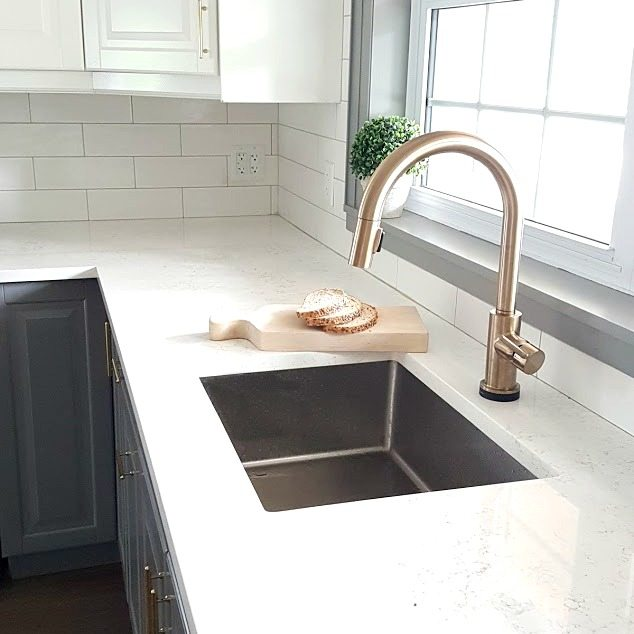 Fixing My Design Mistake With A Gold Kitchen Faucet By