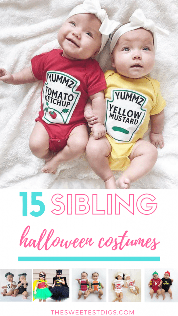 15 Adorable Sibling Halloween Costume Ideas The Sweetest Digs