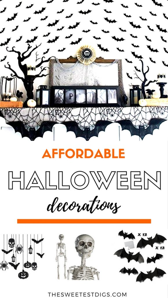 Decorate your house for #halloween with these cute, affordable halloween decorations from Amazon!