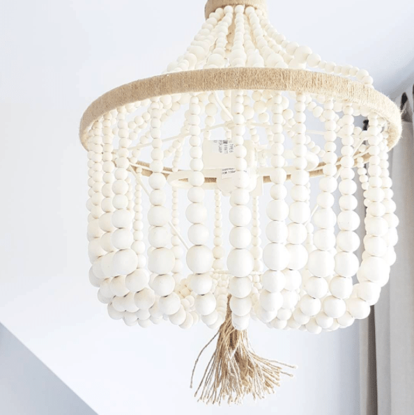 Dahlia light fixture by Pottery Barn Kids