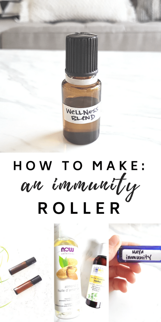 How to make your own #DIY #immunity #roller with #essential #oils!