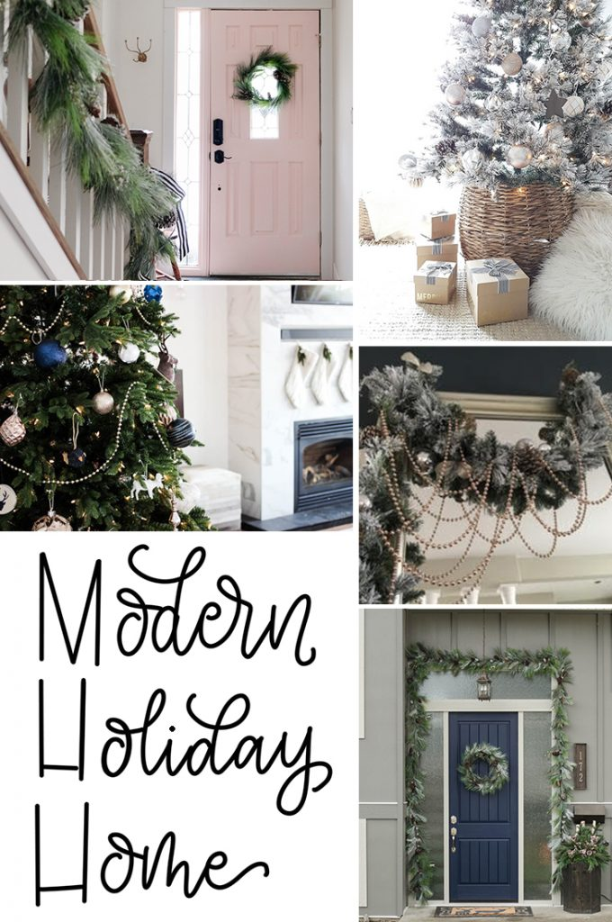 #Christmas #Decorating #Ideas from 5 home decor bloggers! Check out these gorgeous homes.