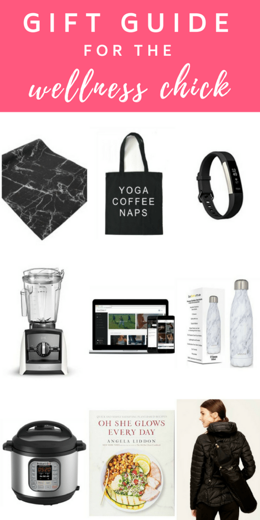 #Gift #Guide for the #Wellness Chick or #Health Nut. Top 10 gifts for those who want to live a healthy lifestyle!