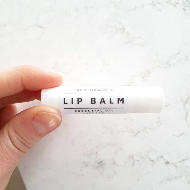 Easy Homemade Lip Balm Recipe: Grapefruit and Tangerine