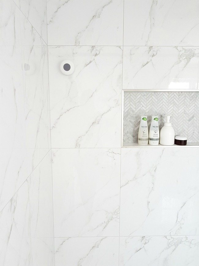 Marble wall tiles Black Design Gorgeous Marble Shower on Budget Design Gorgeous Marble Shower on Budget The Sweetest Digs