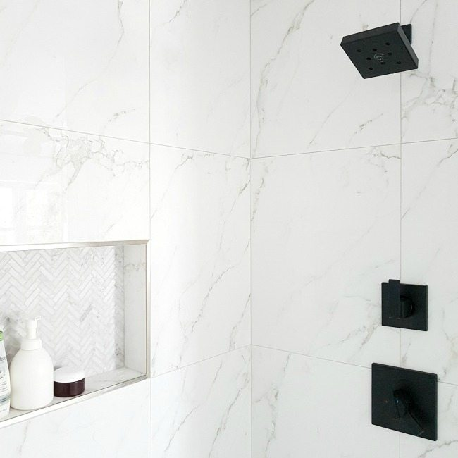 Pleasant Design A Gorgeous Marble Shower On A Budget The Download Free Architecture Designs Lukepmadebymaigaardcom