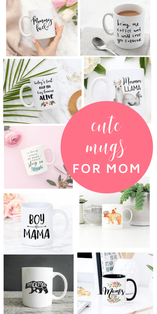 mugs for moms - #Mugs for #mothersday! 17 #Funny and #Cute Mugs for #Mom. All from #Etsy!